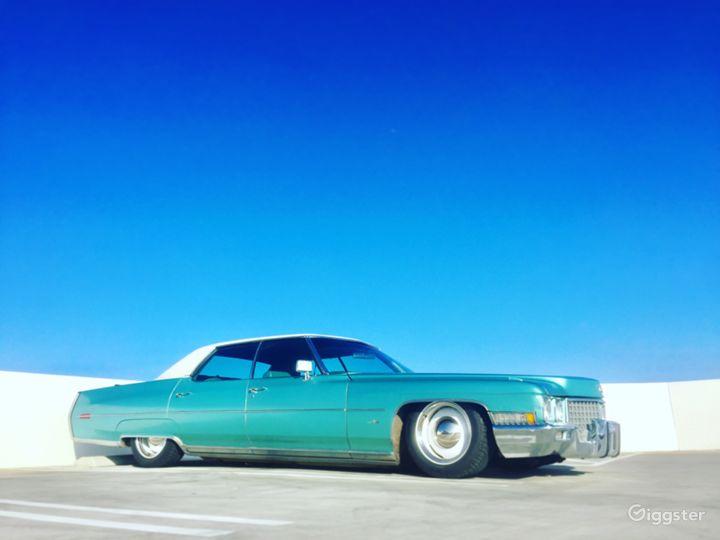 1971 Cadillac Sedan DeVille low rider.