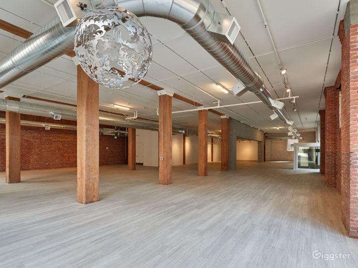 Urban Industrial Event Venue in Pioneer Square