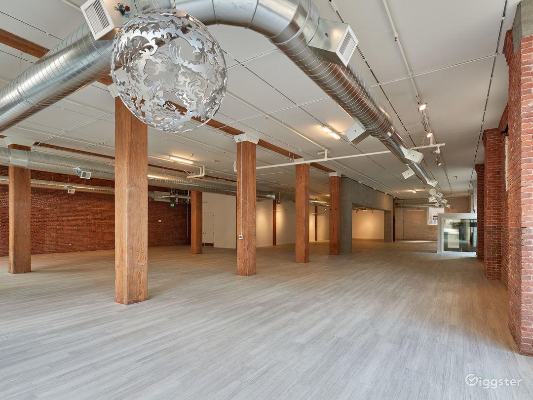 Urban Industrial Event Venue in Pioneer Square Photo 1