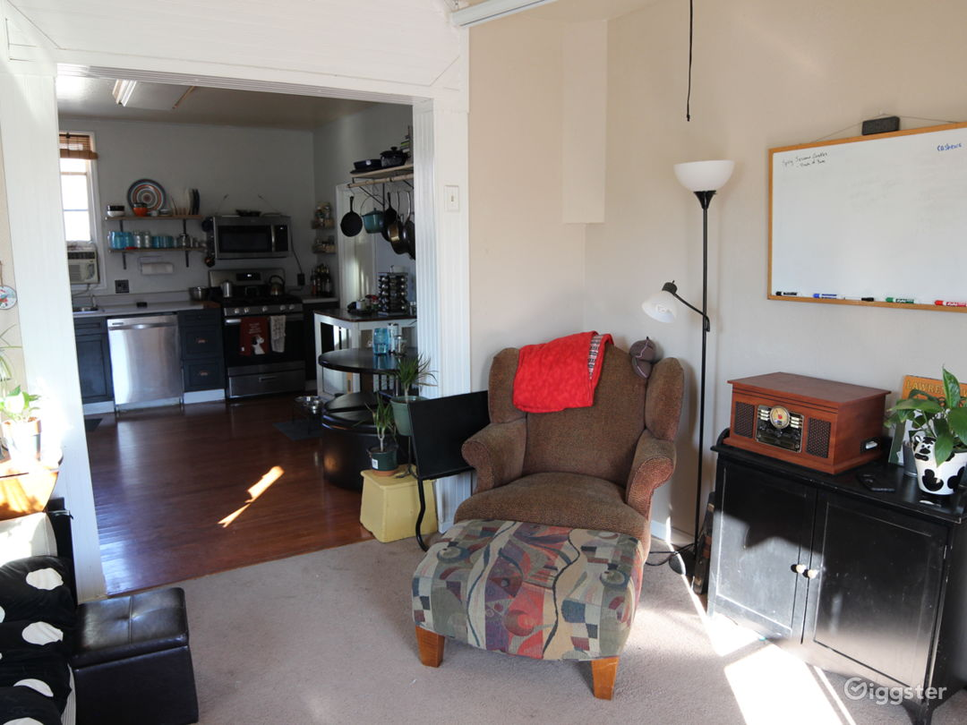 East side of the living room