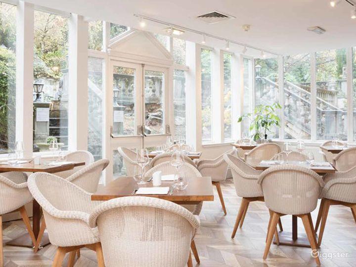 Bright Terrace Restaurant in Edinburgh