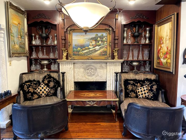 Miami Coconut Grove Mansion Decorate with Antiques Photo 5