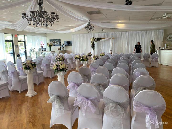 Huge Elegant Ballroom in Delray Beach Photo 5
