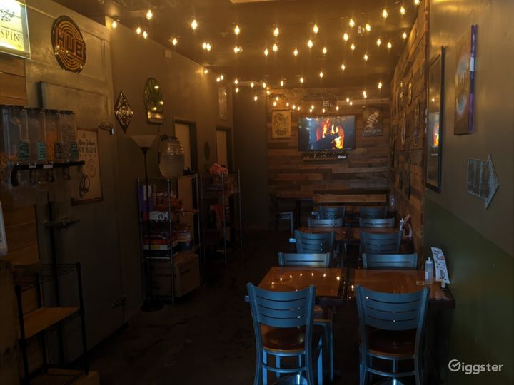 Small Event Space in a Tap Room in Oregon