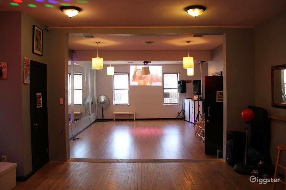 Small Yoga Studio in Long Island City New York Rental