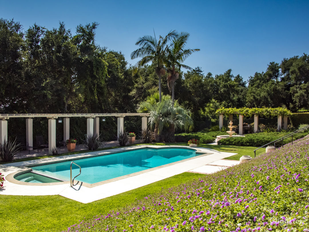 Beautiful Montecito Estate with magical gardens Photo 1