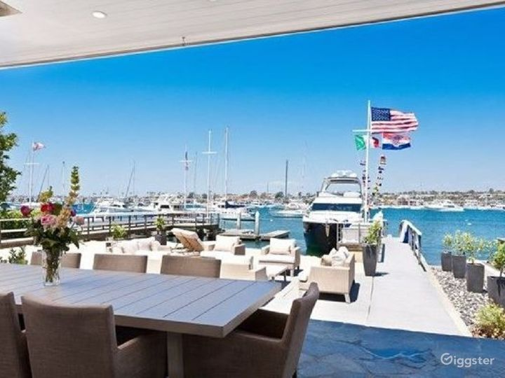 Beautiful Newport Home Directly on the Waterfront