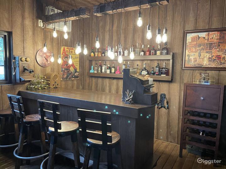 An Elegant Gentleman's Ranch with Cowboy Bar Photo 4