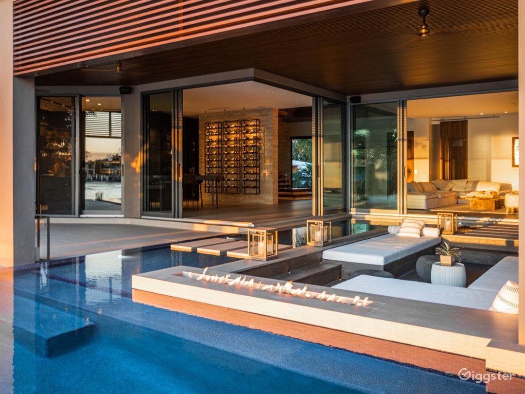 Luxury Modern Tropical Beach house South Florida Photo 1