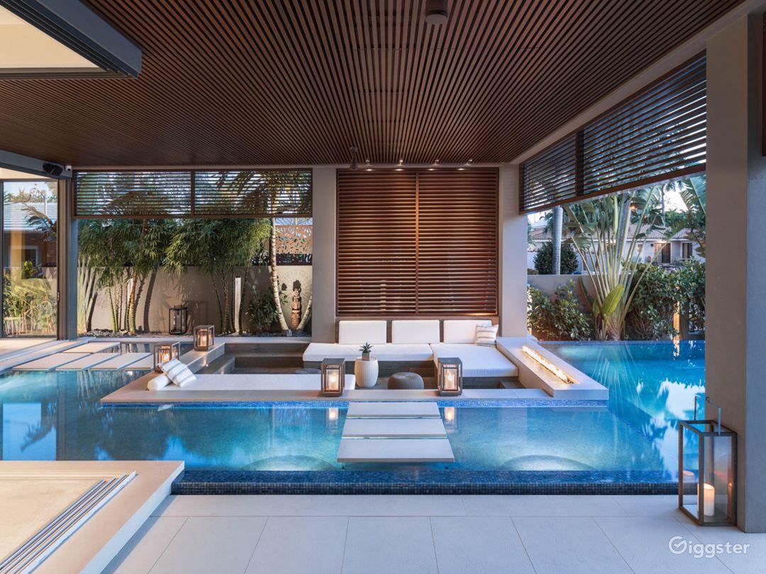 Luxury Modern Tropical Beach house South Florida Photo 4