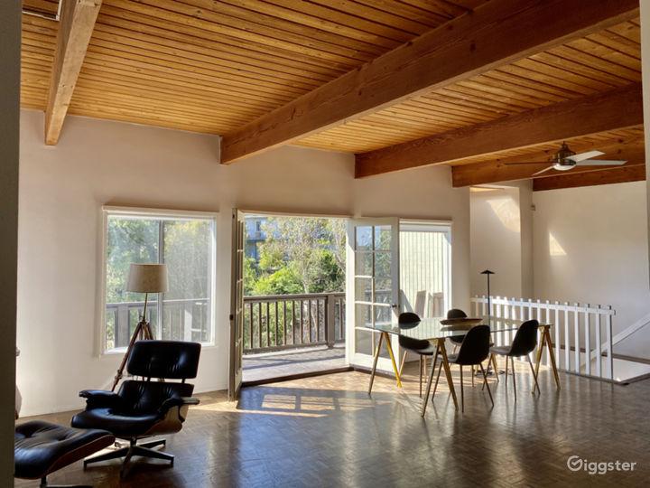Beachwood Canyon MidCentury Modern House with Pool Photo 4