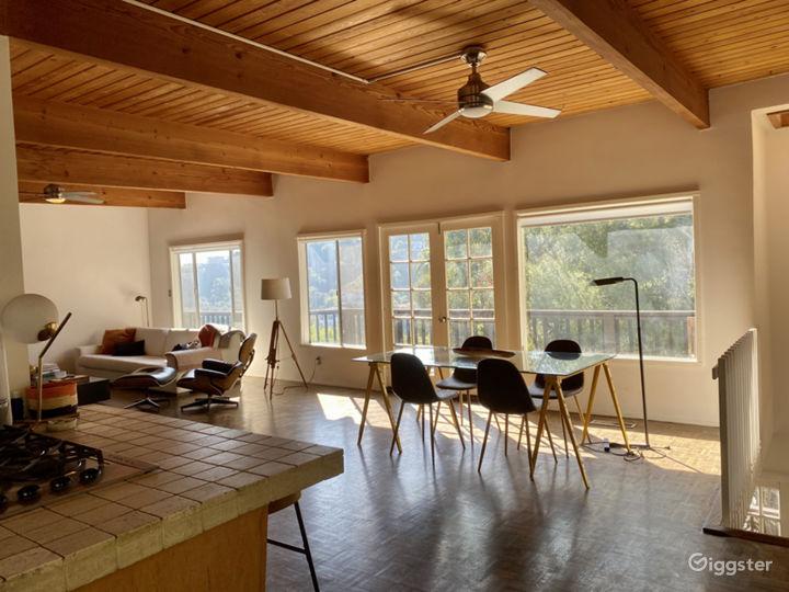Beachwood Canyon MidCentury Modern House with Pool Photo 5
