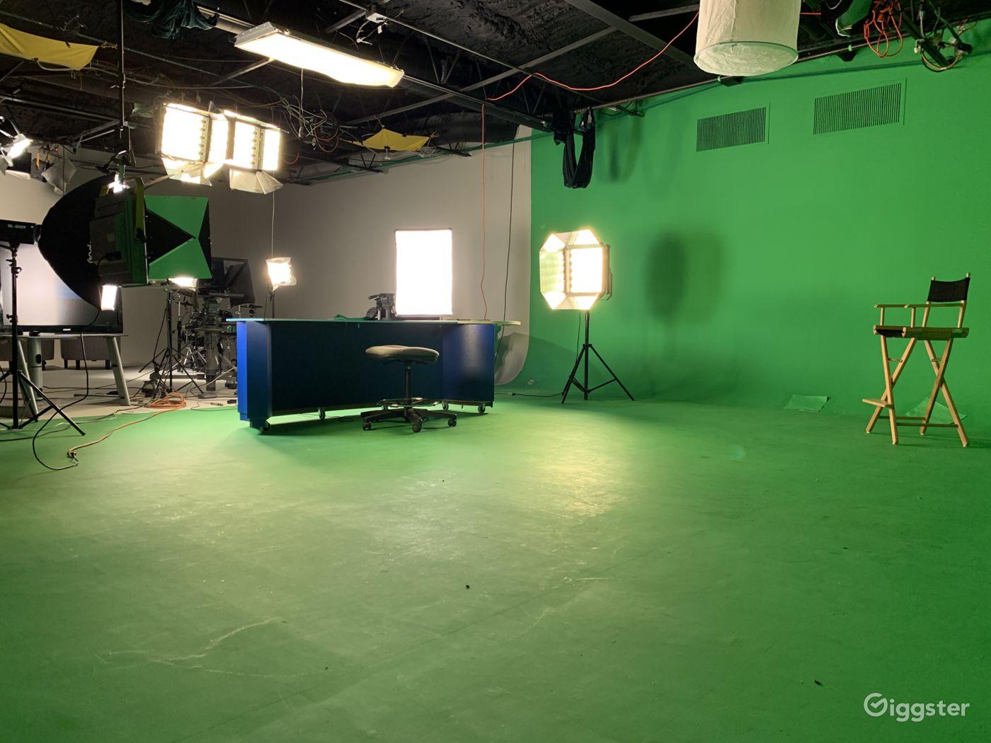 Green Screen Recording Studio in North Bergen New York Rental