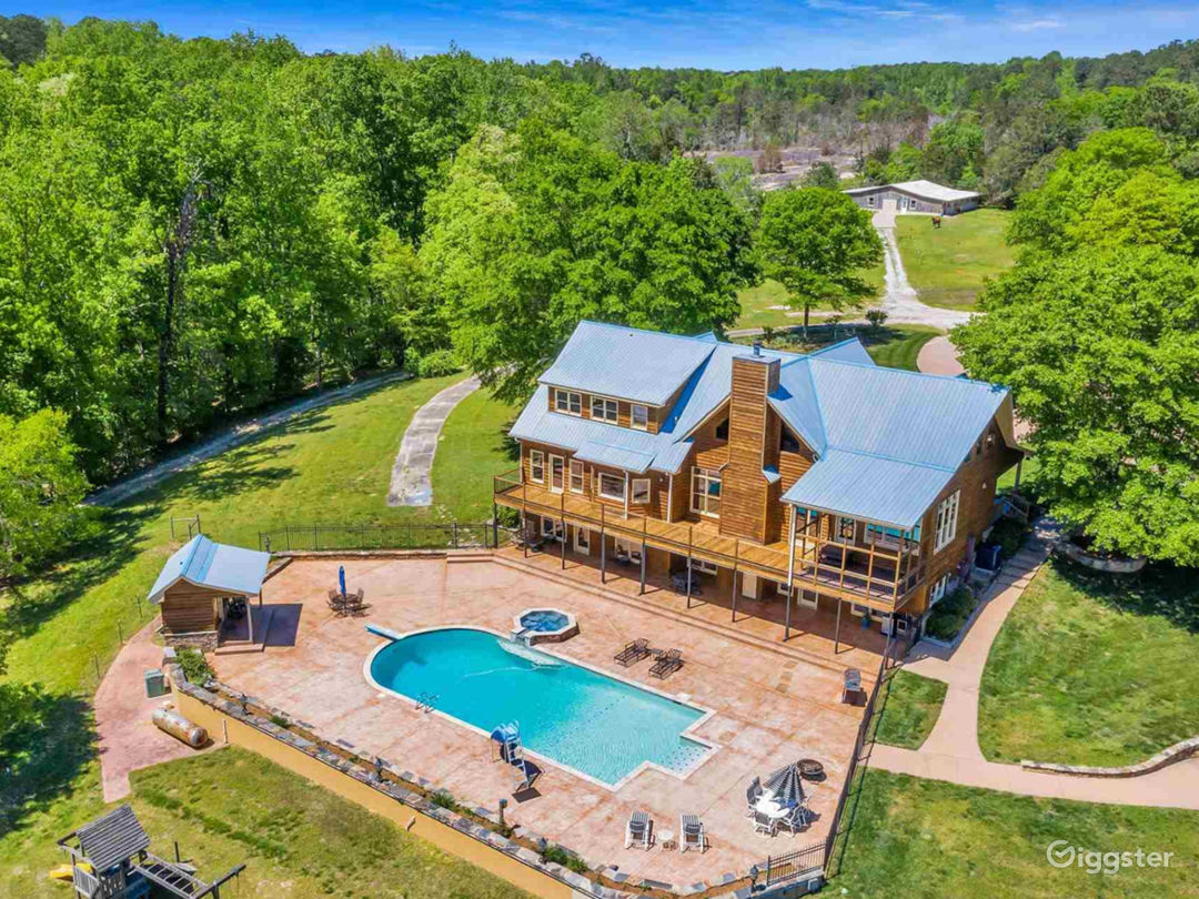 We are a custom built retreat that sits on 19 acres. Also includes a separate carriage house, and workshop with an apartment