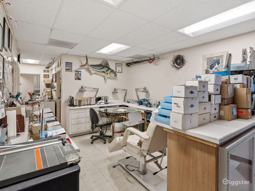 Equipped Dental Lab Filming Location Photo 1