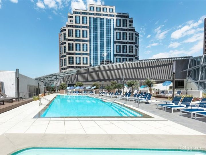Luxury Hotel Outdoor Pool Photo 2