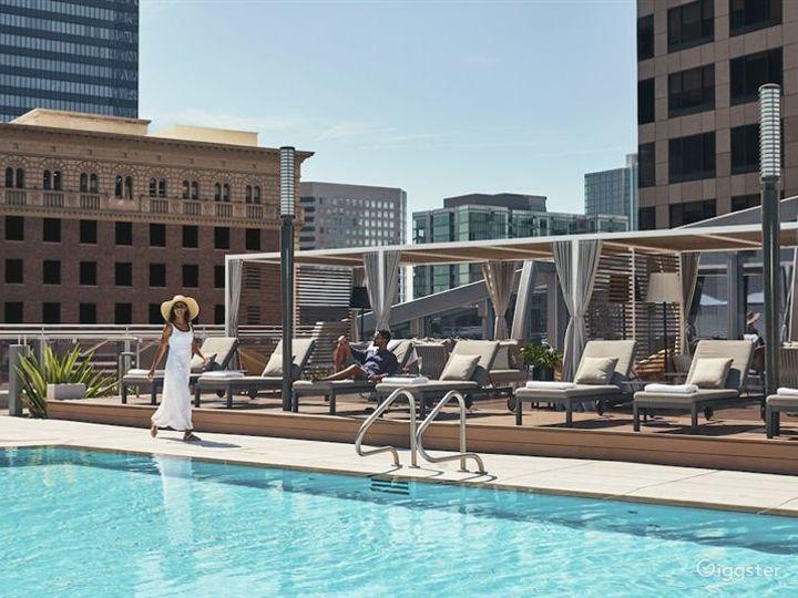 Luxury Hotel Outdoor Pool Photo 3