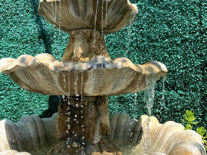 1920's Pegasus Fountain