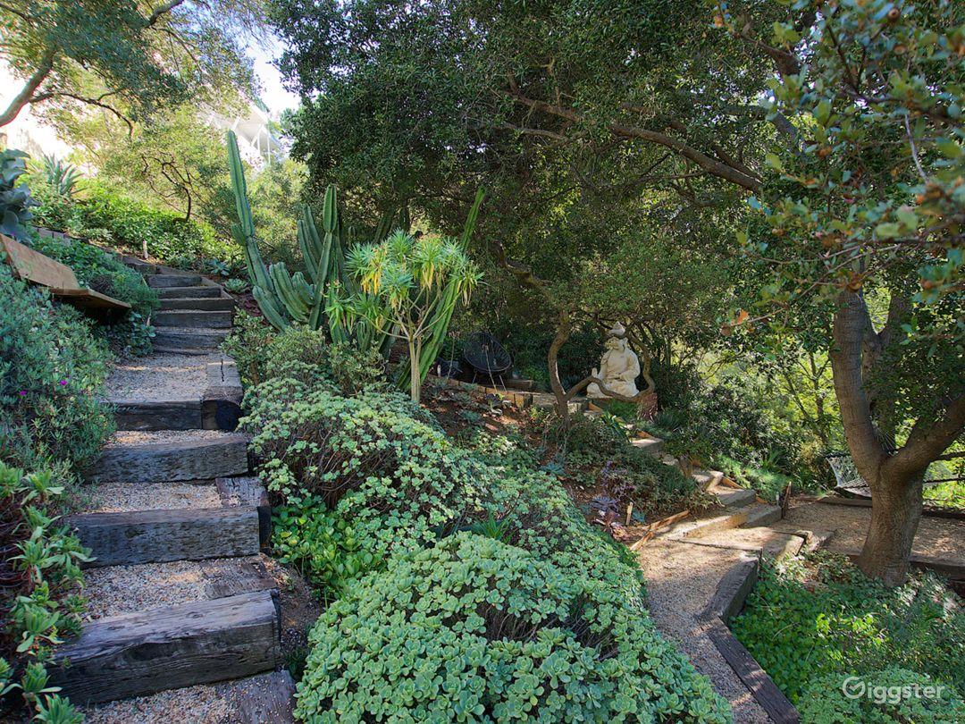 Modern Zen Garden Oasis in Laurel Canyon Photo 3