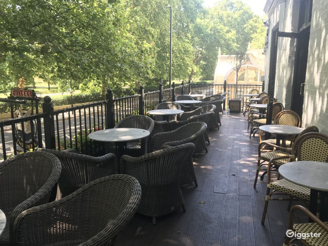 Balcony Terrace for Event in London Photo 1