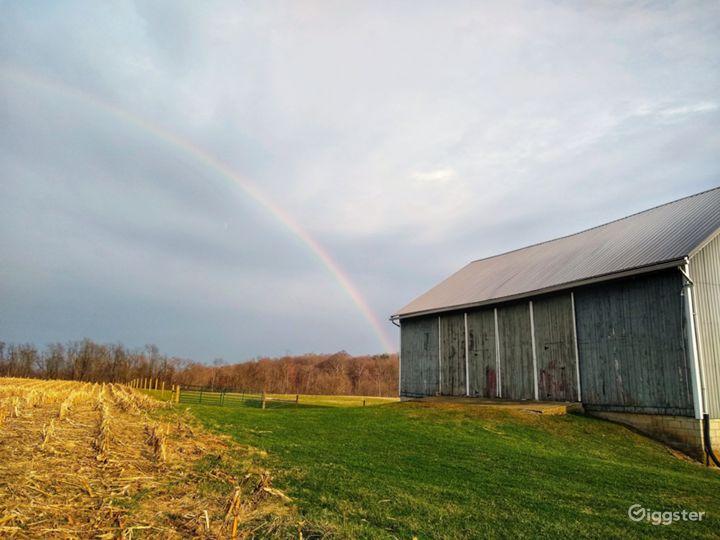 Rural horse farm Photo 2