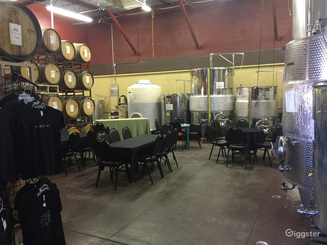 Barrel Room Private Event Space with Wine Tasting Photo 1