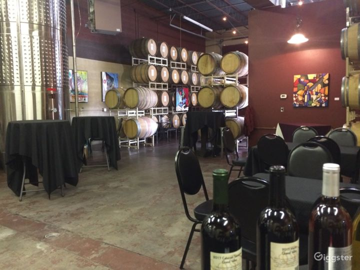 Barrel Room Private Event Space with Wine Tasting Photo 4