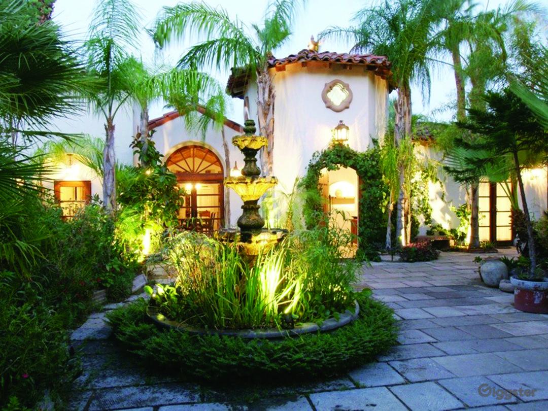 Charming Spanish Style Estate Photo 1