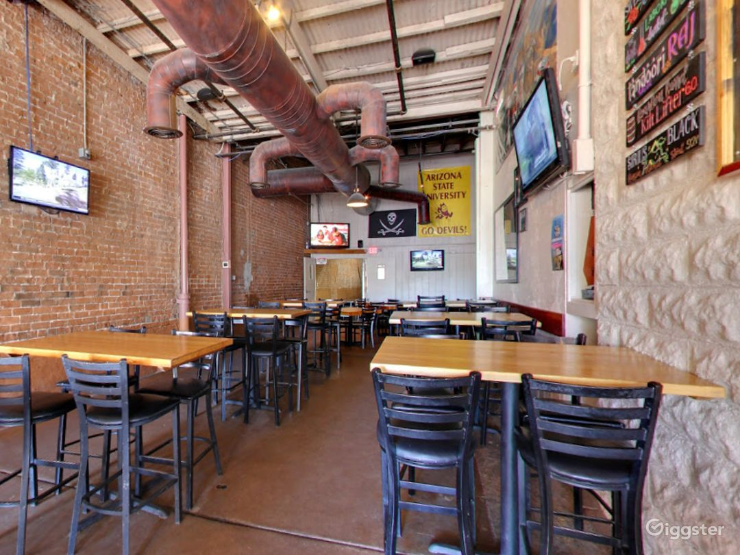 Large Dining Space in a Historic Building Photo 1