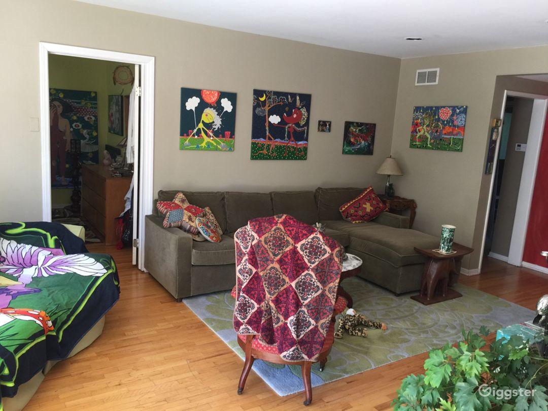 Living Room toward Master Bedroom