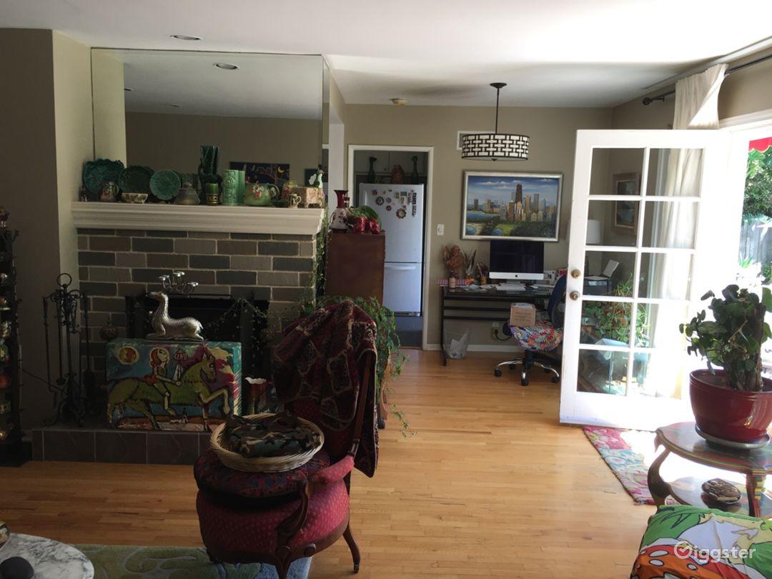 Living Room toward Kitchen