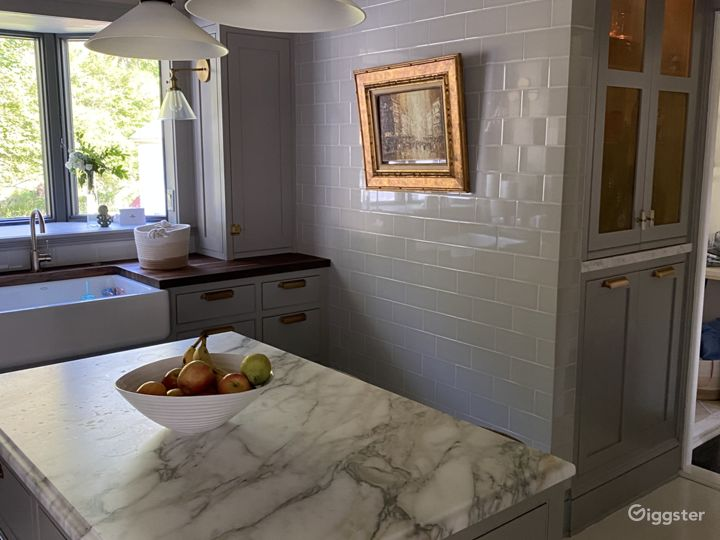 Charming Colonial with sleek Kitchen update Photo 3