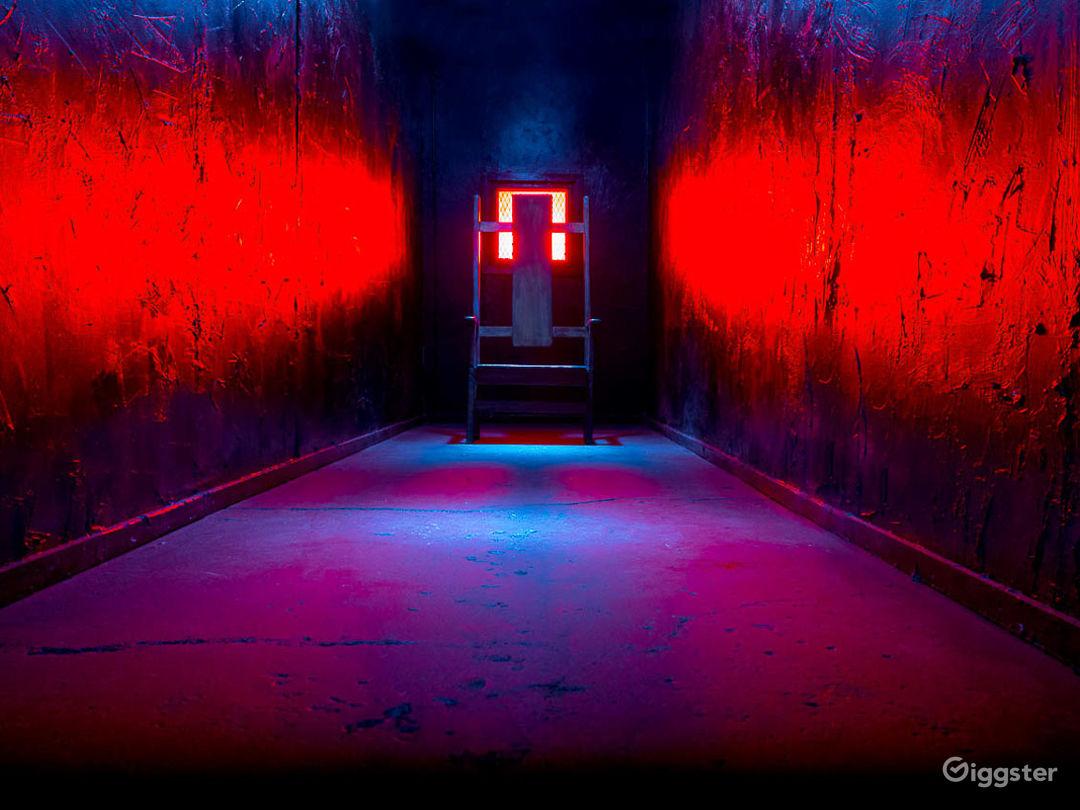 Black Hallway Photo 1