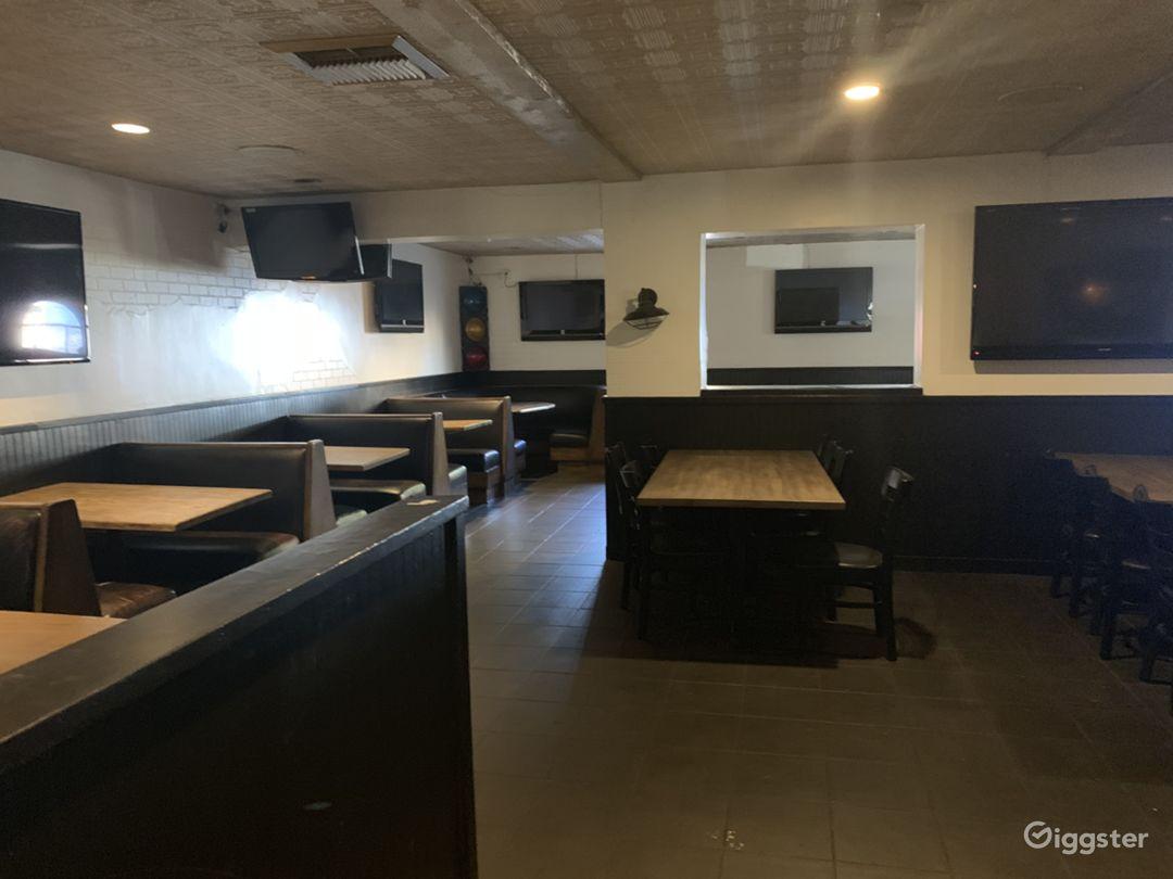 200 seater Modern Bar Restaurant / West Hollywood  Photo 5