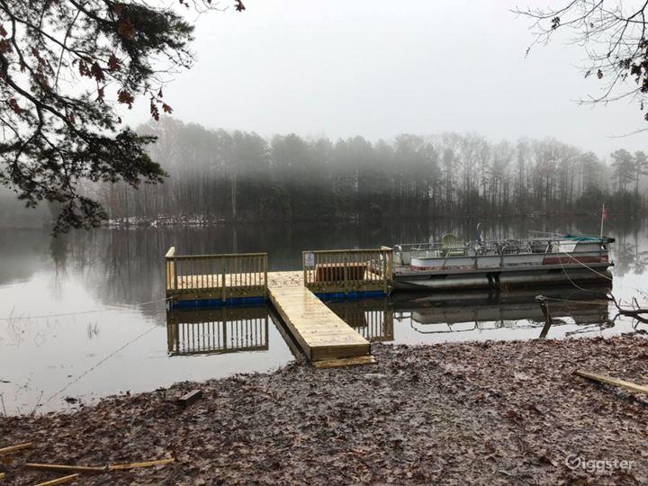 Floating Dock and Pontoon Boat