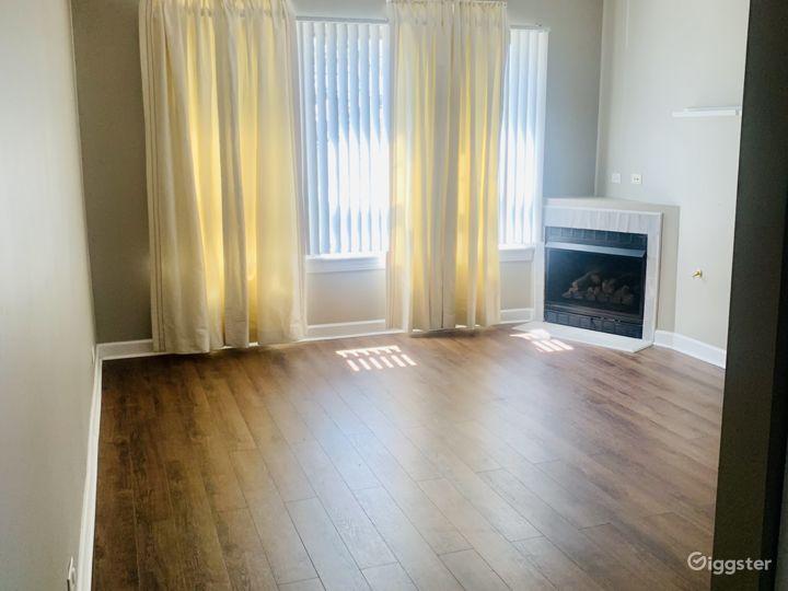 Open & Sunny Living Room