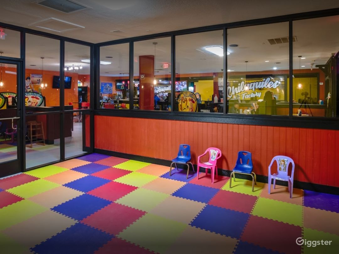 Warm and Cozy Play Area for Children's Parties Photo 1