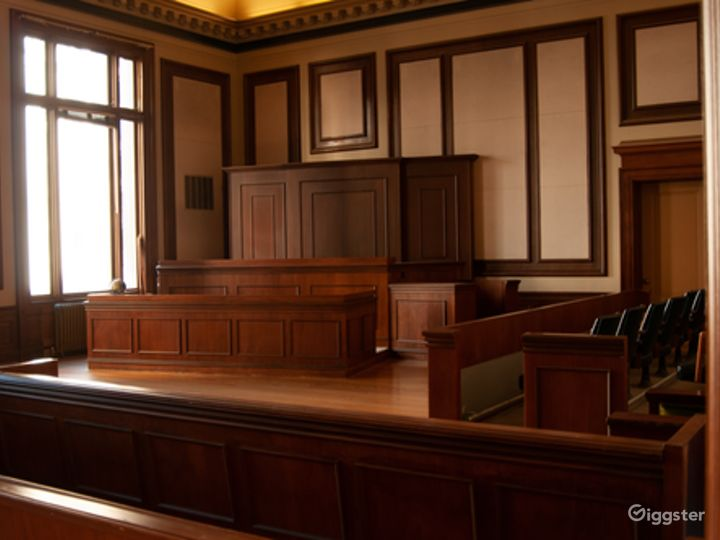 Historic Courtroom Event Space Photo 2