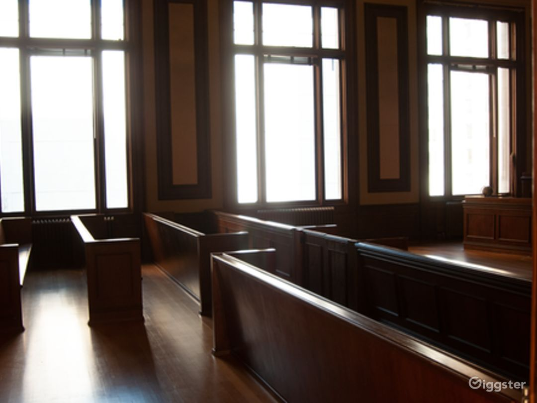 Historic Courtroom Event Space Photo 1