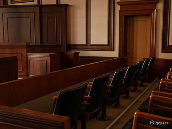 Historic Courtroom Event Space Photo 4