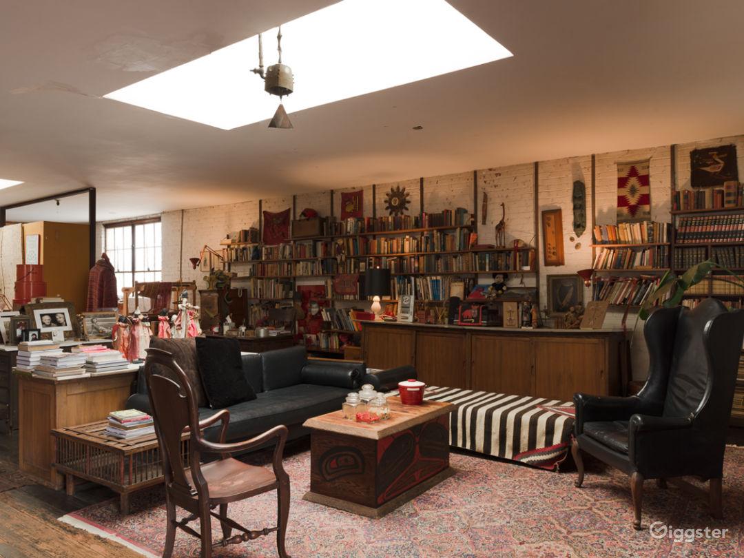 Spacious Hollywood Spanish Loft Studio w/ Charm Photo 5