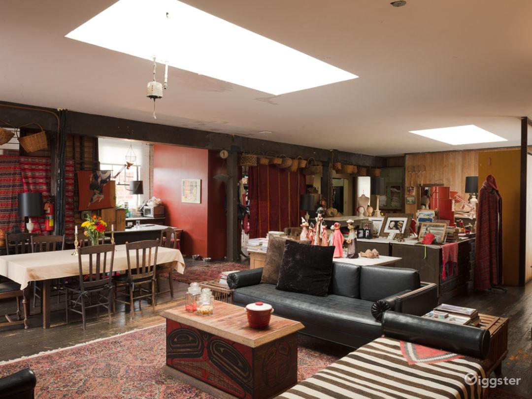 Spacious Hollywood Spanish Loft Studio w/ Charm Photo 2