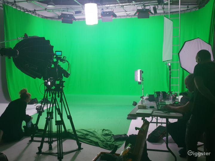 Green Screen Studio Hire