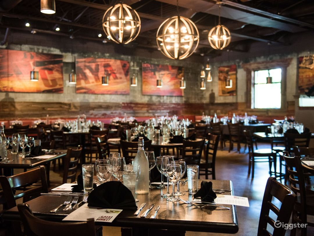 Main Dining Room - Industrial Rustic Event Venue Photo 1