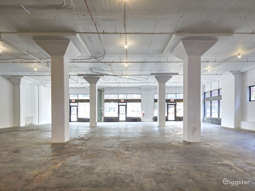 Spacious Industrial Pop Up Space Photo 1