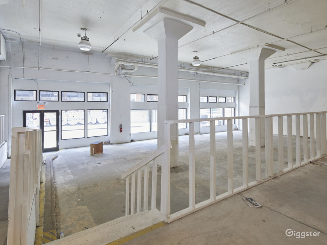Spacious Industrial Pop Up Space Photo 2