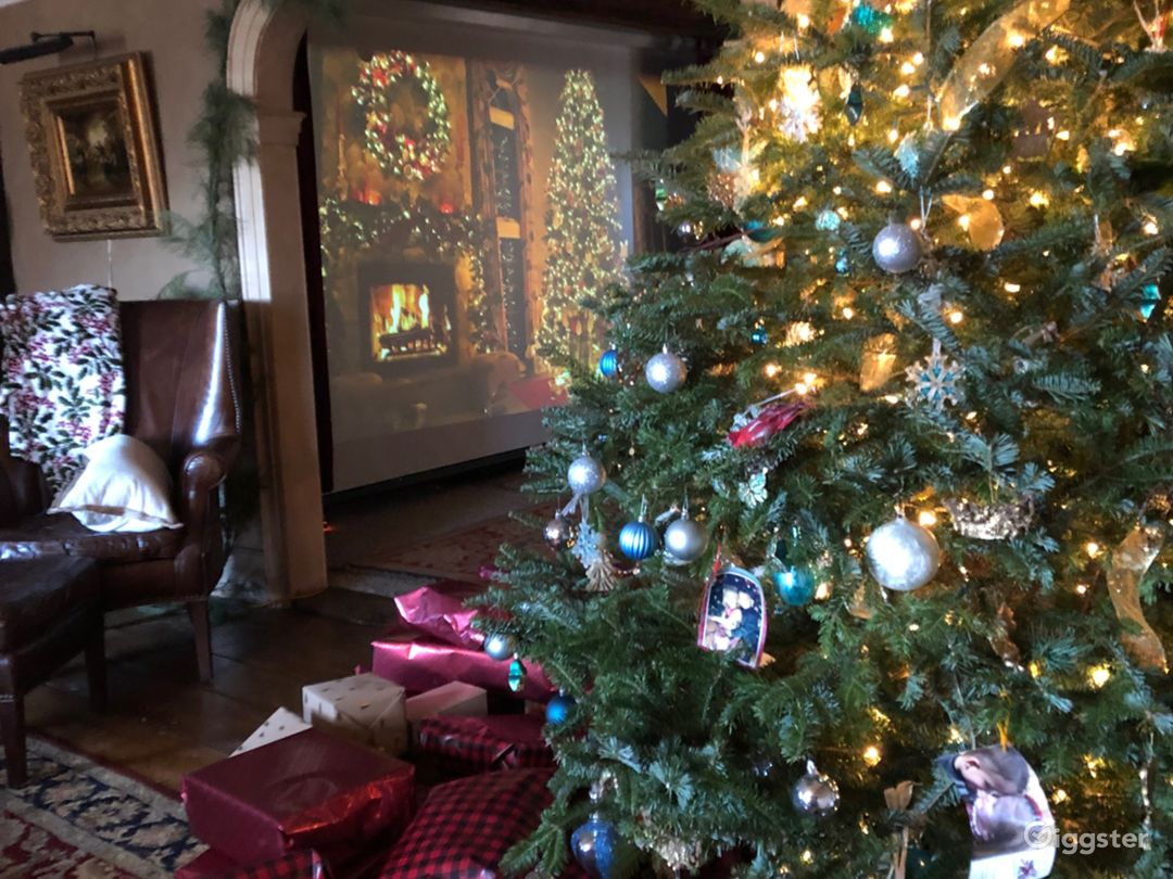 Shoot your Holiday  commercial, video, print/web-ads/at 1752 Historical Estate (Main House)