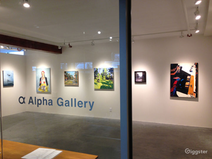 Art Gallery in Boston's South End Arts District