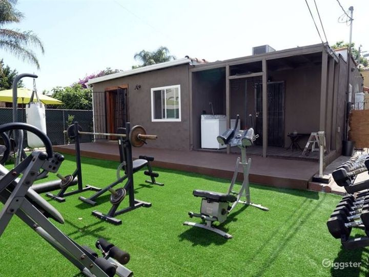 Private Home with Backyard Gym Photo 2