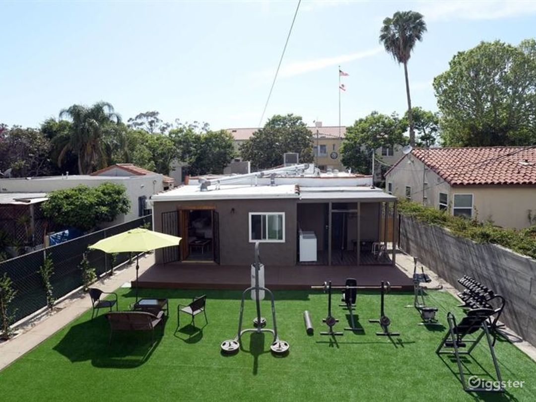 Private Home with Backyard Gym Photo 1